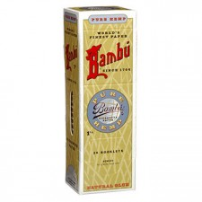 "Bambu Pure Hemp Regular 1-1/4"" Gravity Feed (24 pack)"