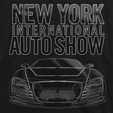 2013 NYIAS Gel Car on Black T-Shirt