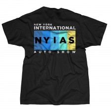 2013 NYIAS Color Bar on Black T-Shirt
