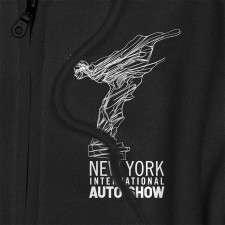 NYIAS Liberty Logo on Black Zip-Up