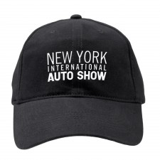 NYIAS Text Logo on Black Hat