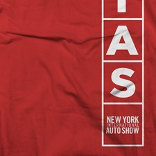 2014 NYIAS Initial Blocks on Red T-Shirt