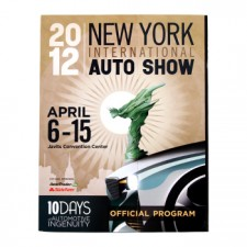 New York International Auto Show 2012 Program