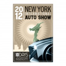 2012 NYIAS Screen Printed Poster