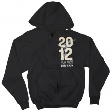 2012 NYIAS Statue Logo Hoodie on Black