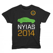 2014 NYIAS Logo on Black T-Shirt