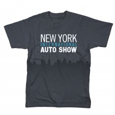 2012 NYIAS City Skyline T-Shirt on Charcoal