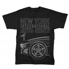 2012 NYIAS Car T-Shirt on Black