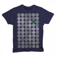 2014 NYIAS Rims on Navy T-Shirt