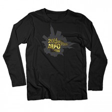 2014 NYIAS Gold Foil on Black Long Sleeved Shirt
