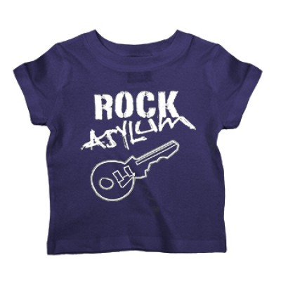 Kid's T-Shirt in Rock Asylum Purple