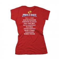 Hot 99.5's Jingle Ball 2013 Women's Tee