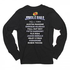 Hot 99.5's Jingle Ball 2013 Long Sleeve Tee