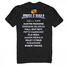 Hot 99.5's Jingle Ball 2013 Men's Black Tee