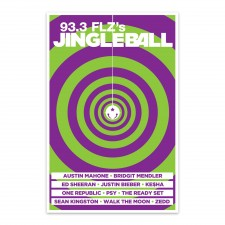 93.3 FLZ's Jingle Ball 2012 Poster