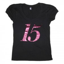 Latina Women's 15 Years Logo on Black