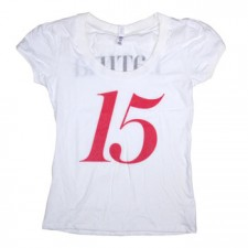 Limited Edition Latina Women's 15 Years Logo on White