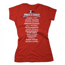 Z100's Jingle Ball 2013 Women's Tee