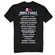 Z100's Jingle Ball 2013 Men's Black Tee