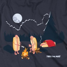 Three Dog Night on Indigo T-Shirt