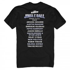 KIIS FM's Jingle Ball 2013 Black Tee