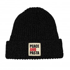 Peace and Pasta Beanie