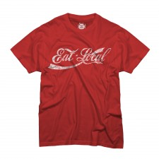 Eat Local on Red T-Shirt