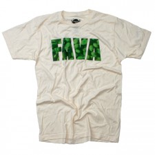 Fava on Natural T-Shirt