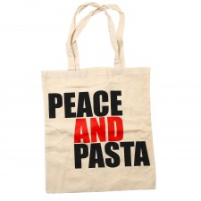 Peace and Pasta Tote