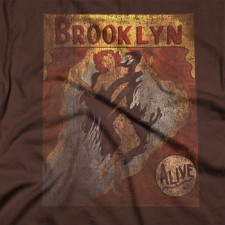 Eve T-Shirt on Brown