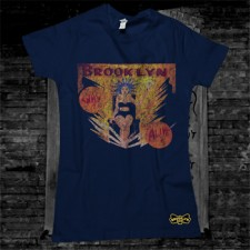 Electra Women's T-Shirt on Navy