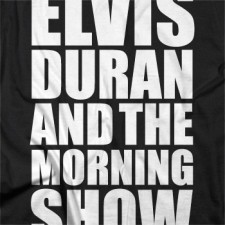 Elvis Duran Party Rock Tee on Black