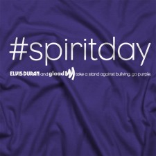 Elvis Duran GLAAD Spirit Day T-Shirt