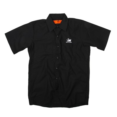 Men's Jam Cruise Work Shirt on Black