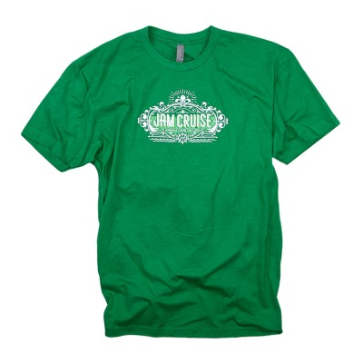 Men's Palm Crest T-Shirt on Heather Green