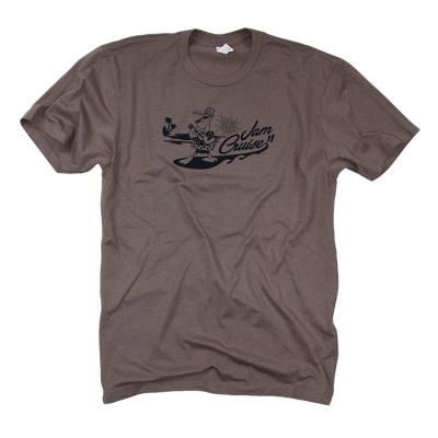 Men's Pelican T-Shirt on Dark Gray
