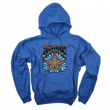 Jeff Wood Sea Star Hoodie on Denim Blue