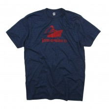 Men's Logo T-Shirt on Heather Blue
