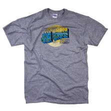 Men's Postcard T-Shirt on Gray