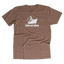 Men's Logo Shirt on Brown
