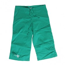 Women's Green Bermuda Shorts